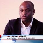 Aurélien Nkam : «Sur Africa-Shops.cm, l'on peut acheter en ligne ou via le téléphone» [Vidéo]