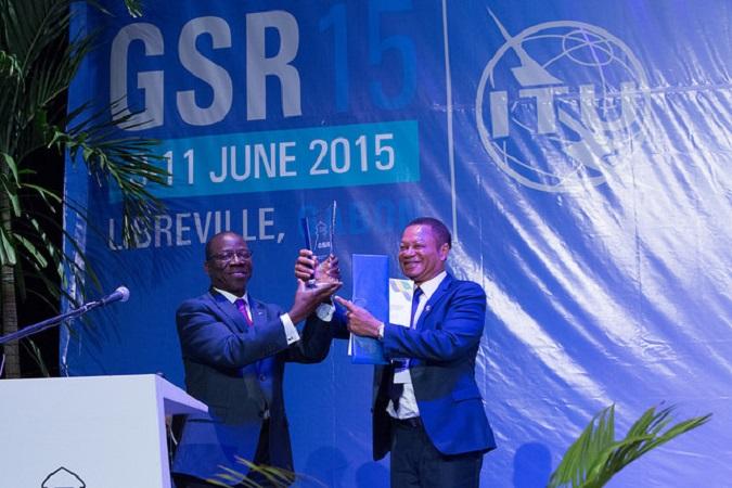 Gabon : Lin Mombo désigné ambassadeur des bonnes pratiques de régulation de l'UIT