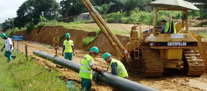 Interconnexion Congo-Gabon : Déjà 40% de fibre optique posé