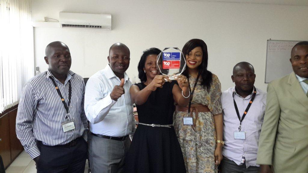 Orange Cameroun désigné Top Employer 2015