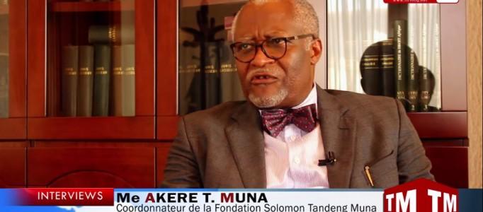 Me Akere T. Muna: «Les TIC peuvent résoudre au moins 60% des problèmes de gouvernance »