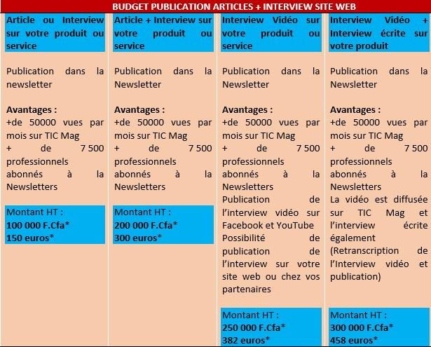 PUB Forfaits TIC Mag Articles