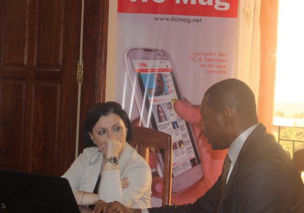 L'ambassadrice d'Italie Samuela Isopi visite TIC Mag et ICT Media STRATEGIES
