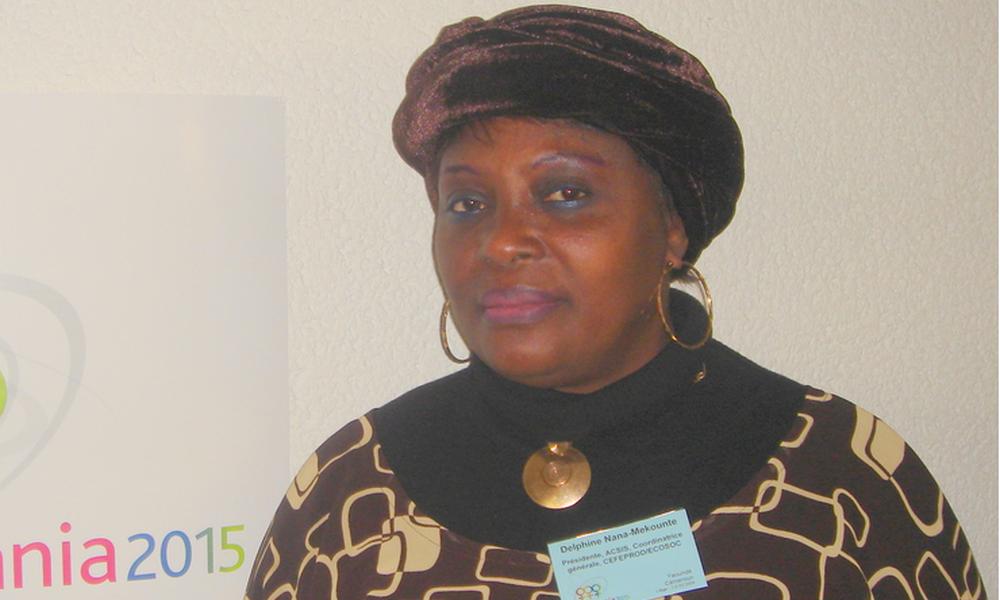 Delphine Nana Mekounte, directrice générale du CEFEPROD | Archives/DR