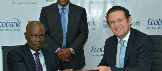 Microsoft et Ecobank s'engagent à accompagner les Etats africains dans le numérique