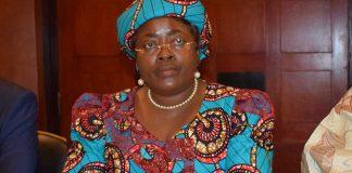 Minette Libom Li Likeng, ministre camarounais des Postes et Télécommunications.