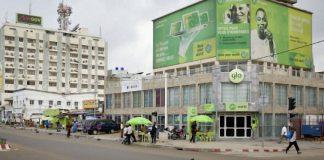 Un bureau de Glo à Cotonou.   © Jacques TORREGANO pour Jeune Afrique
