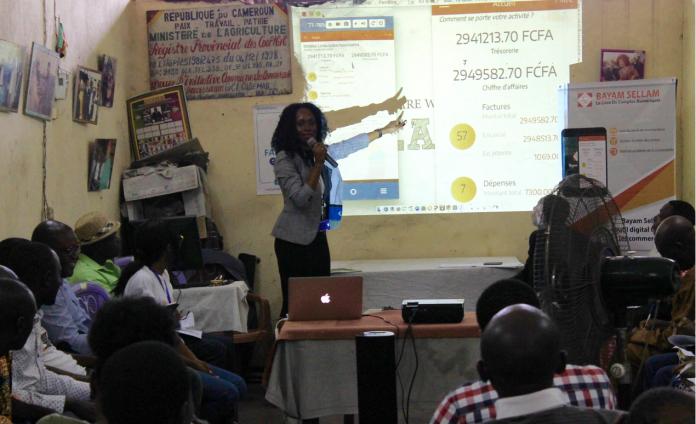 Linda Kouvouama, Co-Fondatrice et Directrice Commerciale d'ABBIA Digital