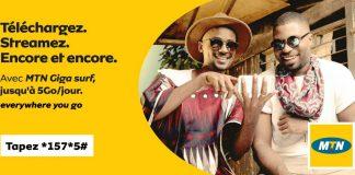 Envie de surfer au Cameroun ? Découvrez tous les forfaits datas de la nouvelle offre « MTN Giga Surf » de MTN Cameroon