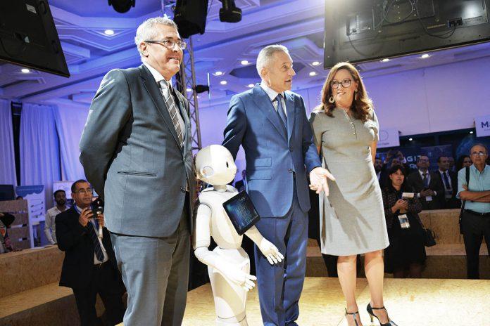 Maroc : le robot Pepper, attraction principale du salon AITEX 2018 à Rabat