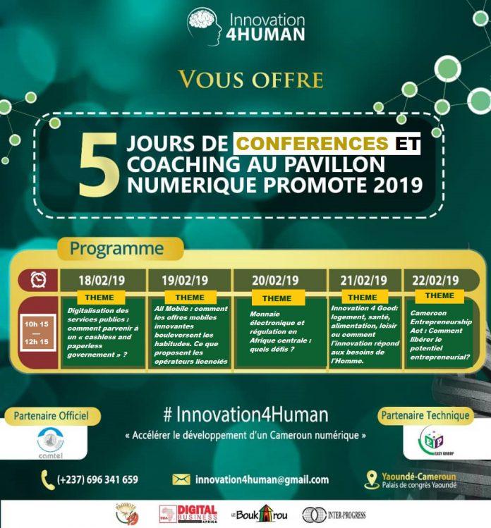 Promote 2019 : Ne manquez pas les conférences d'Innovation 4 Human au Pavillon du numérique