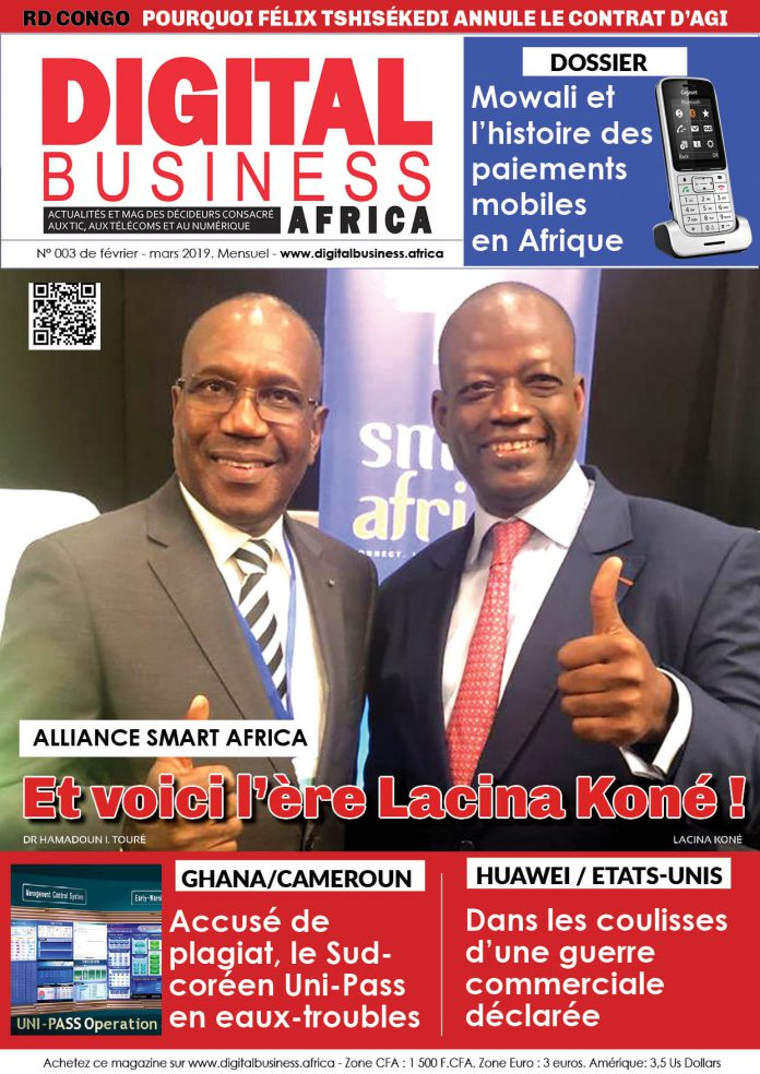 Digital Business Africa fait un focus sur Lacina Koné, nouveau DG de Smart Africa