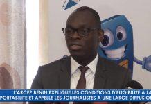 Bénin : Hervé Coovi GUEDEGBE explique les avantages de la portabilité des numéros mobiles [Vidéo]