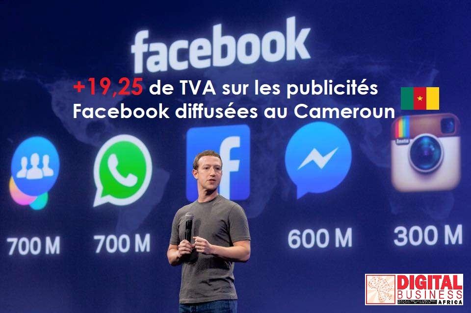 Facebook TVA au Cameroun